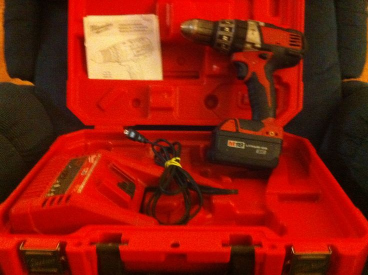 Milwaukee Hammer Drill in Brian_yard_sale Sale Bono, AR for $180.00. 18V 1/2 Milwaukee Hammer Drill. Battery,case and charger included. Very good tool.