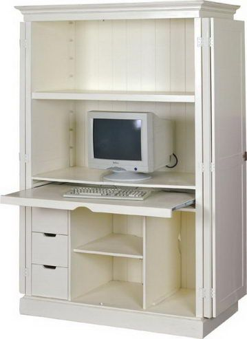 Computerschrank Landhausstil
