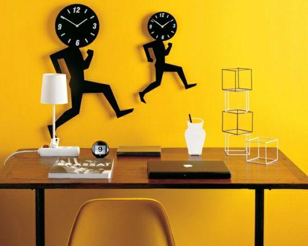 amusants-horloges-design- murale