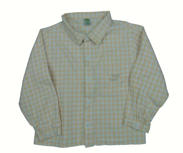 camisa niño de 2 años marca TUC TUC 3,30 euros en la tienda infantil Charamusco ropas super baratas de segunda mano