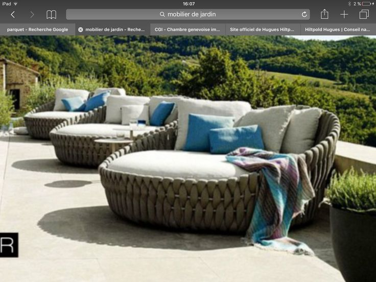 13 best jardin images on Pinterest Chairs, Backyard furniture and