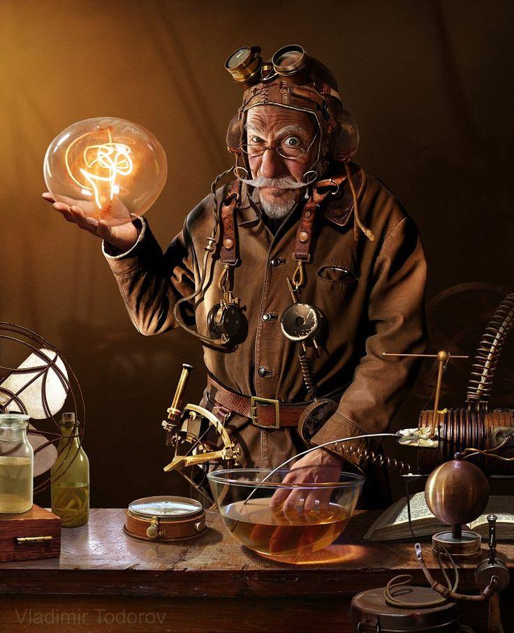 The Magician by http://www.vladimirtodorov.com