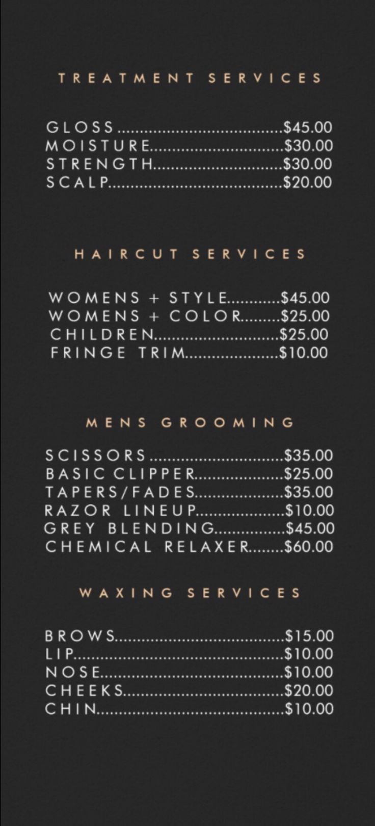 Friseur and beauty lounge