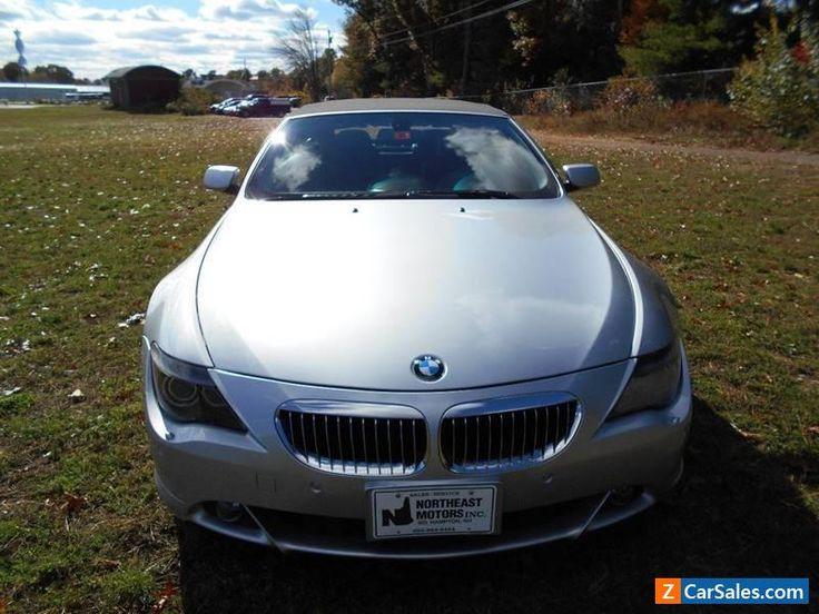 2006 BMW 6-Series Base Convertible 2-Door #bmw #6series #forsale #unitedstates