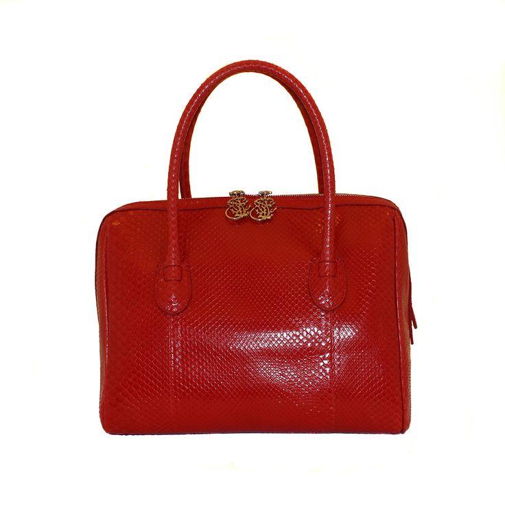 Borsa in vero pitone - da Salamastra; Real python handbag - by Salamastra