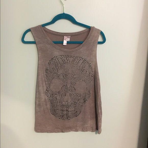 skull muscle shirt size small d skallar muskel och t. Black Bedroom Furniture Sets. Home Design Ideas