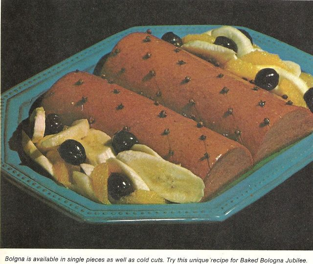 Baked Bologna Jubilee (Family Circle Illustrated Library of Cooking, Volume 7, 1972)