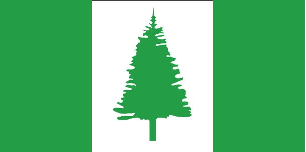 Country Flags: Norfolk Island Flag