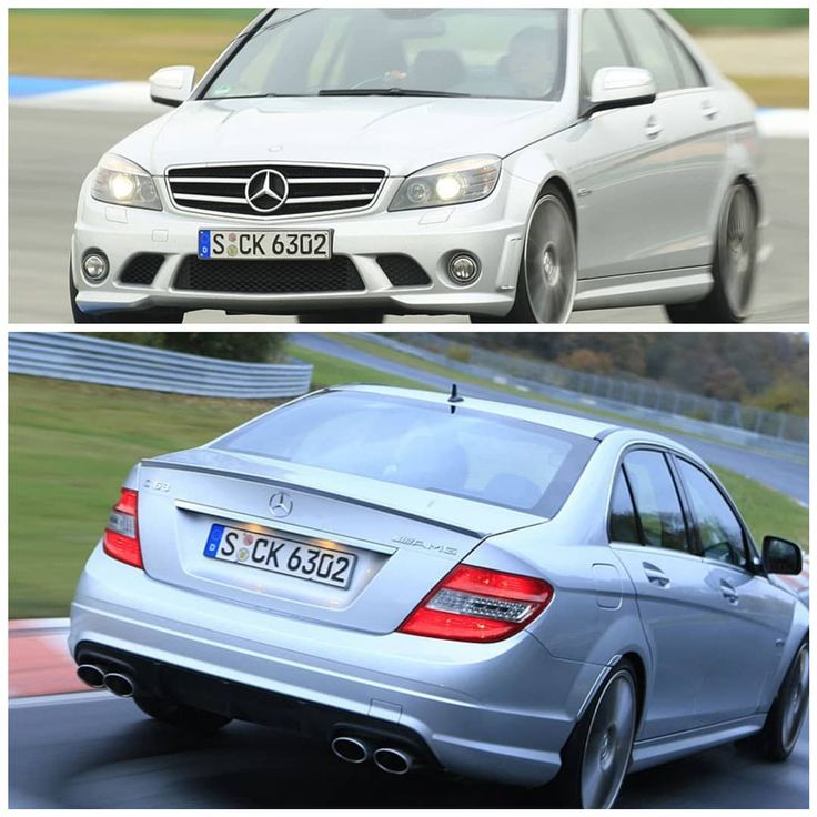 Mercedes C63 AMG (W204) 457 HP 600 Nm 0-60: 4,6s #mercedes