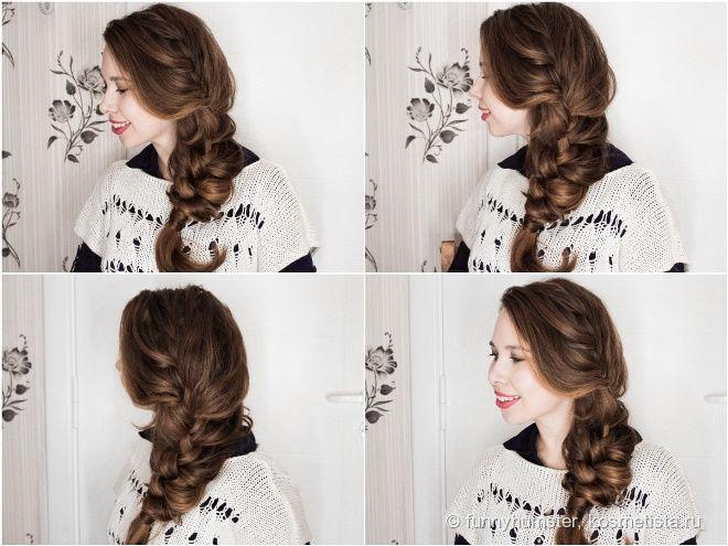 Всем привет! Прическа с плетением «французская коса» может быть разной. Если затянуть потуже, то образ будет повседневным или даже спортивным. А вот пышная коса — это уже намек на что-то более романтичное и даже вечернее. И сегодня мне бы хотелось показать именно такой образ. Приятного чтения!   Подготовка волос: Чистые сухие волосы (на
