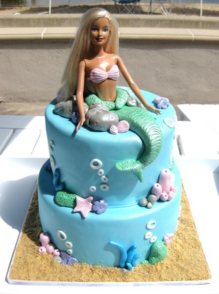 mermaid: Cakes Ideas, Barbie Cakes, Birthday Parties, Mermaids Birthday, Mermaids Cakes, Parties Ideas, Mermaids Parties, Birthday Ideas, Birthday Cakes
