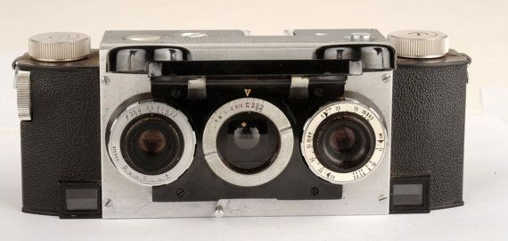 David White Stereo Realist 35mm Vintage Stereo Film by MagsandI
