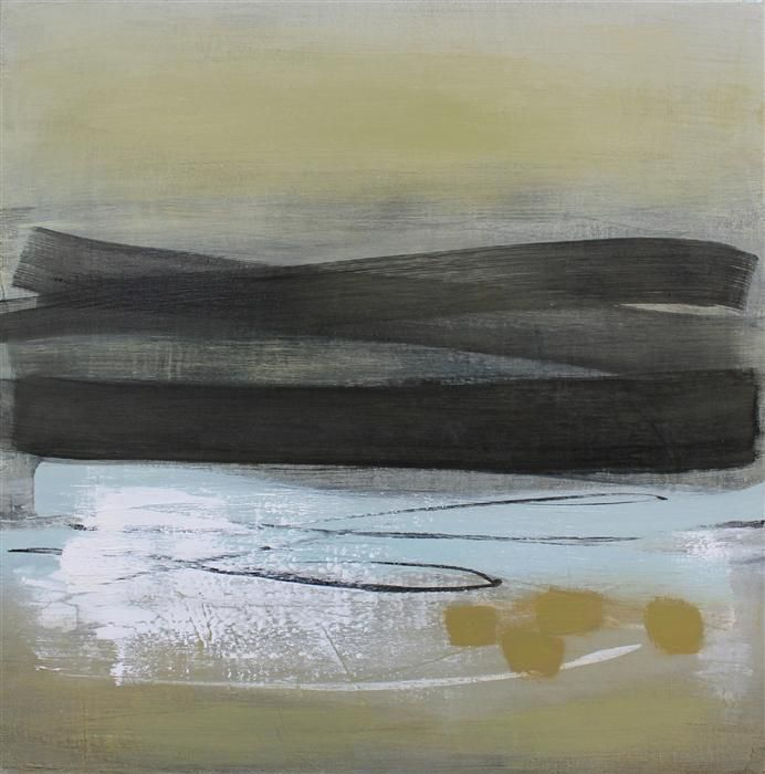 Original art for sale at UGallery.com   Sand Drift #1 by Heather McAlpine   acrylic painting