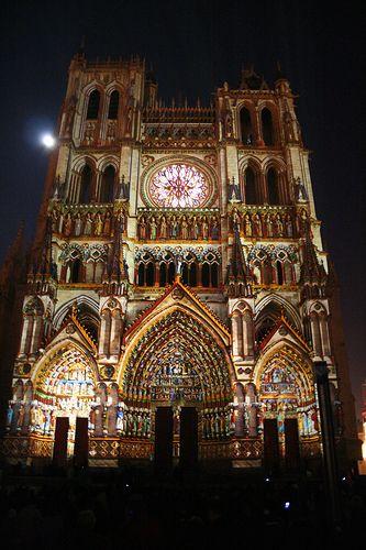 Notre-Dame d'Amiens, son et lumière