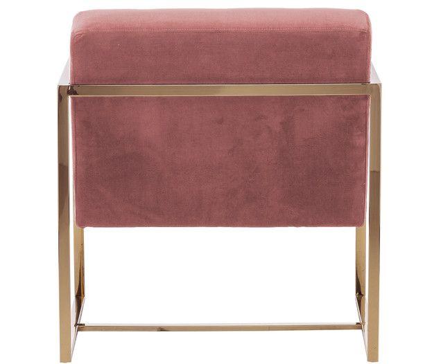 Samt Loungesessel Manhattan In Altrosa Decor Home Decor Furniture