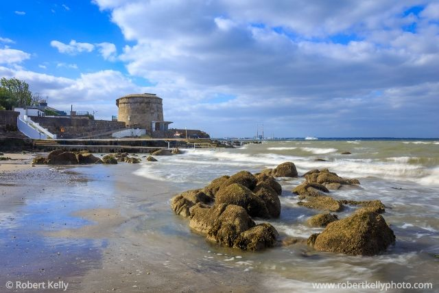 Seapoint Martello Tower, Dublin Bay, Ireland | Fine Art Print