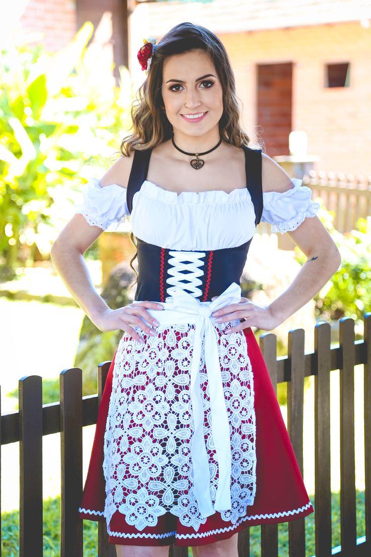 Traje típico Vestido de frida Dirndl Oktoberfest