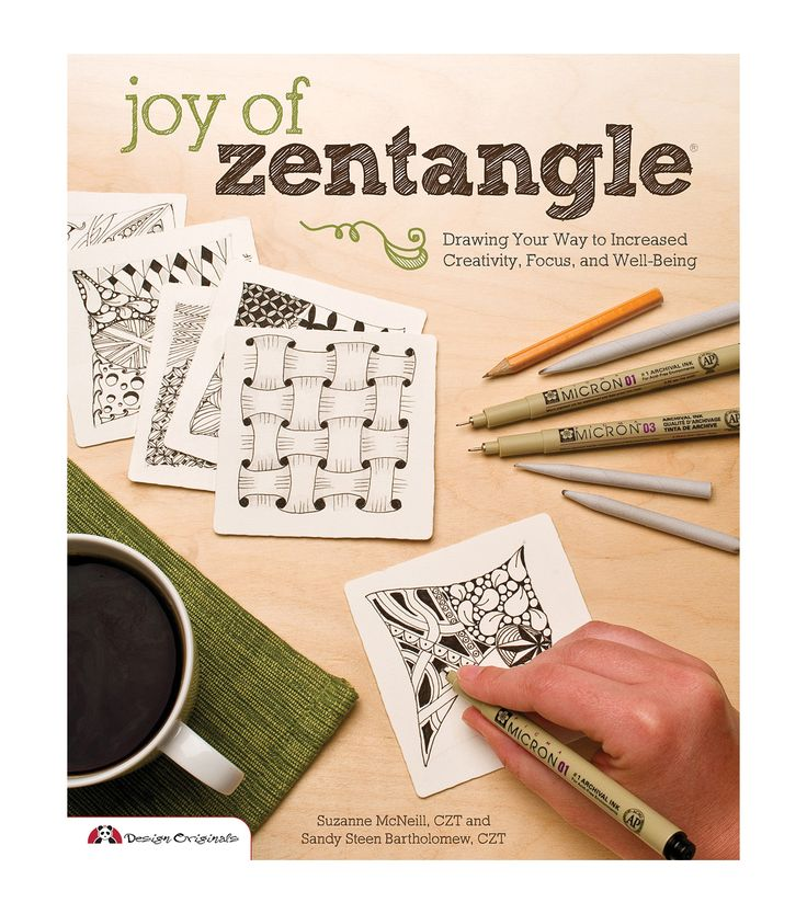 Adult Coloring Book - Design Originals Joy Of Zentangle