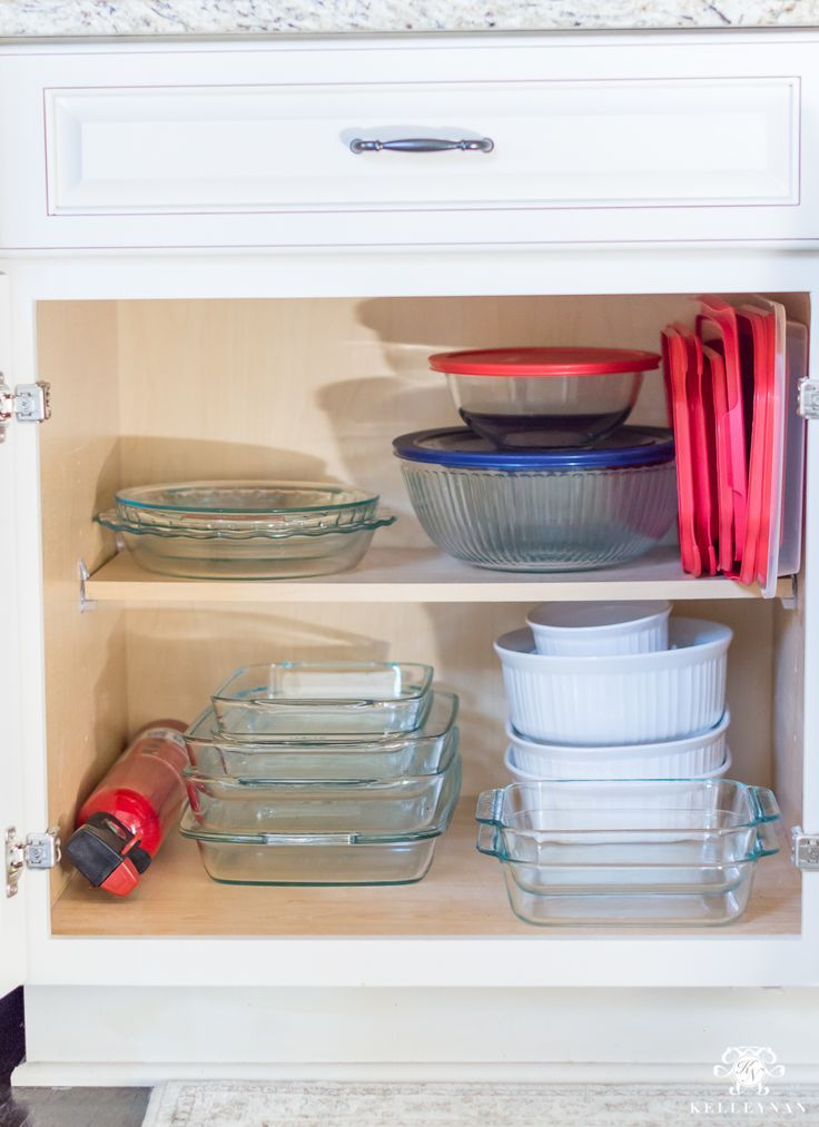 Organization Ideas For A Kitchen Cabinet Overhaul With Images
