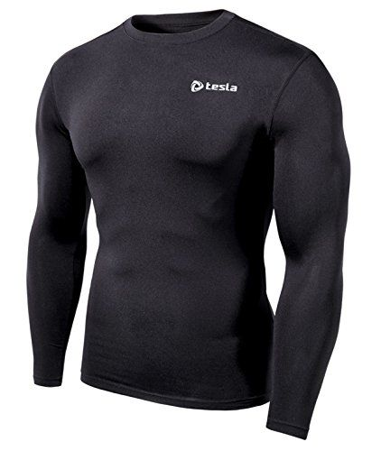 awesome TM-LTR-BB_L Tesla Compression Under Base Layer Gear Armour Wear Long Sleeve