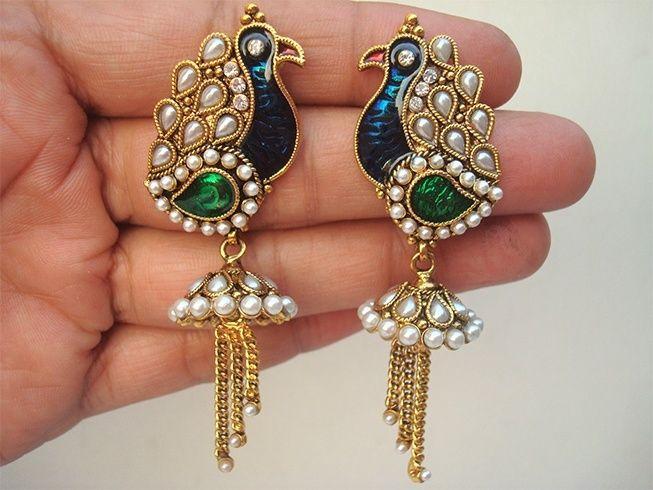 Jaipur meenakari jewellery