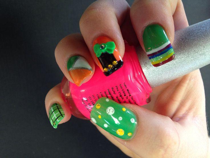 Saint Patrick's Nails 2014