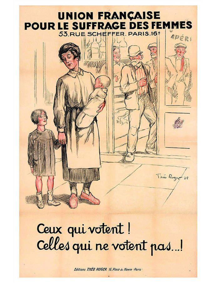 Le combat pour le droit de vote des femmes - 10 affiches qui racontent le…
