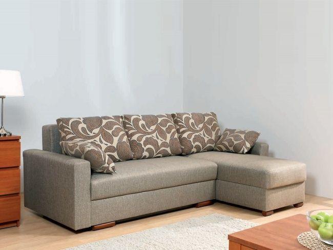 Угловой диван Лира с боковинами  1600 (еврокнижка)