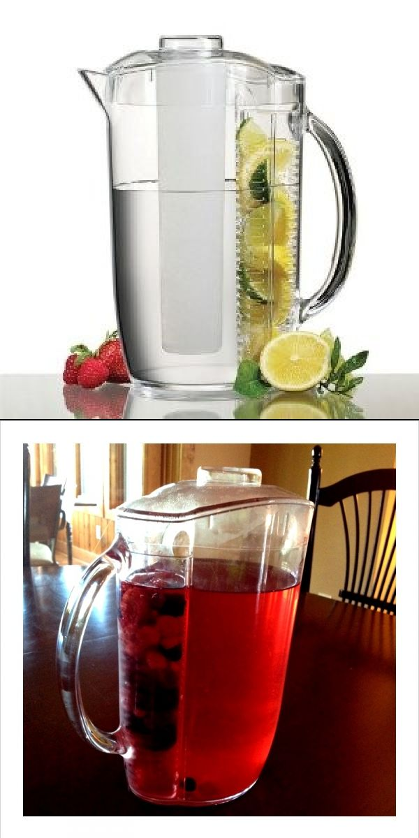Drink more Water!  I love this fruit diffuser water pitcher!