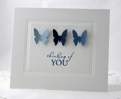 blue butterflies  so elegant and simple: Cards Thinking, Blue Butterflies, Cards Ideas, Scrapbooking Cards, Cards Scrapbook, Blue Butterfly, Cards Butterflies, Butterflies Cards, Paper Crafts