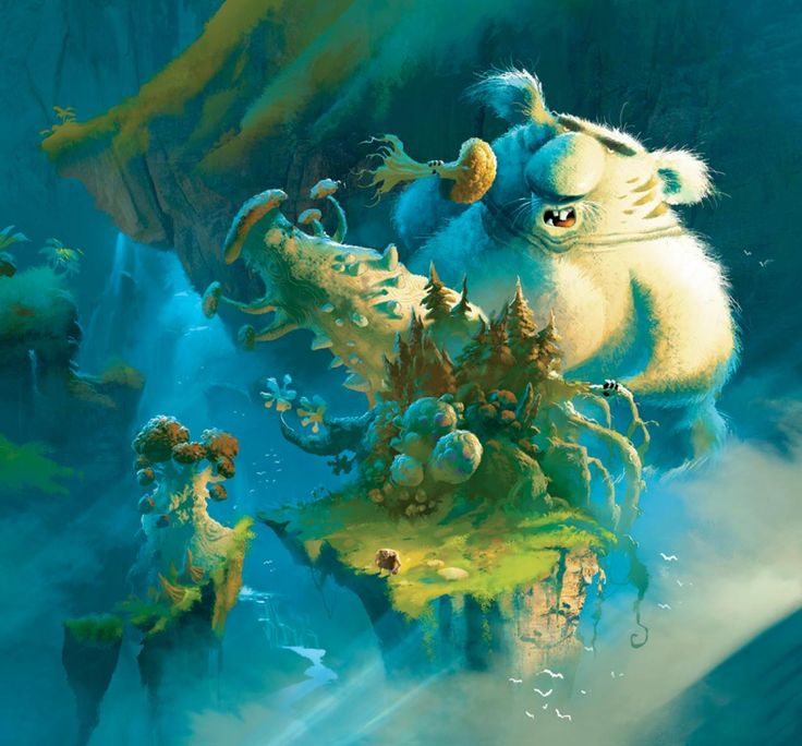 The Croods 2 Movie: Les Croods - Concept Art