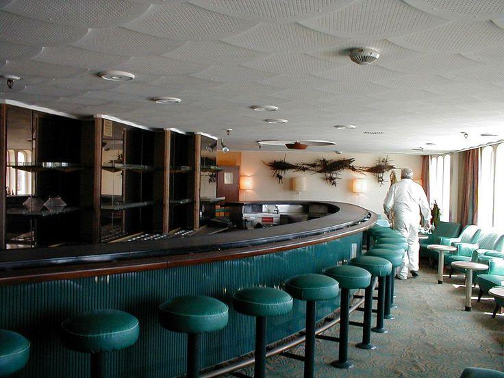 Cocktail Bar SS 'Rotterdam'.