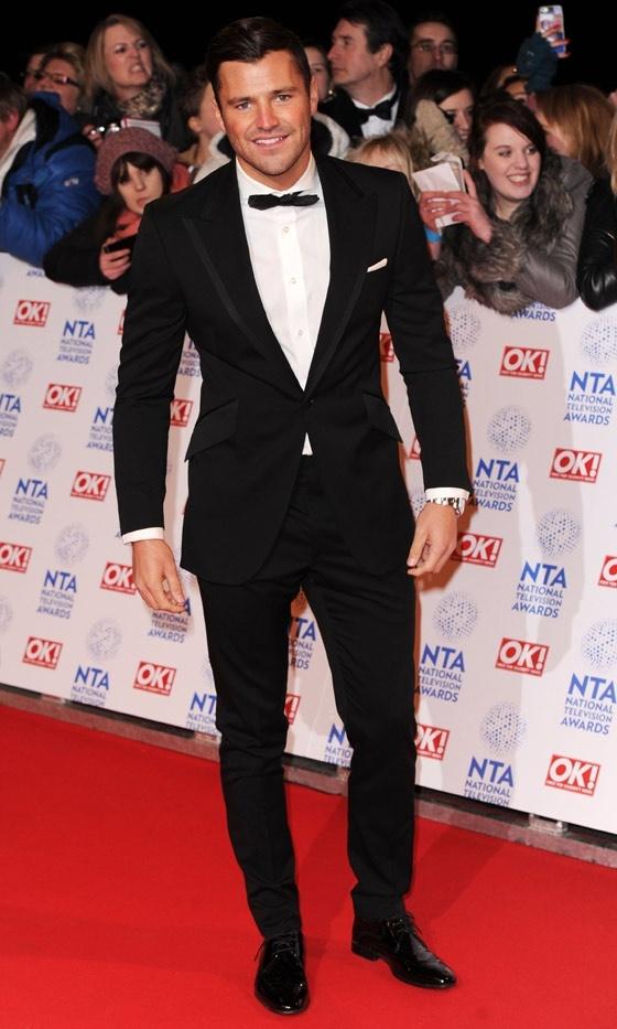 Mark Wright At The National Television Awards, 2013
