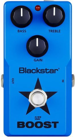 Blackstar LT BOOST is the perfect pedal for raising the signal into your amp to create overdrive for punchier rhythm progressions and solos. The LT BOOST has bass and treble controls in addition to boost, to help you produce the distinctive tone you're after. A must have for any pedalboard.