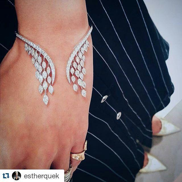 Instagram media by bijouxdeluxe_ - #Repost @estherquek ・・・ Wearing bracelet from…