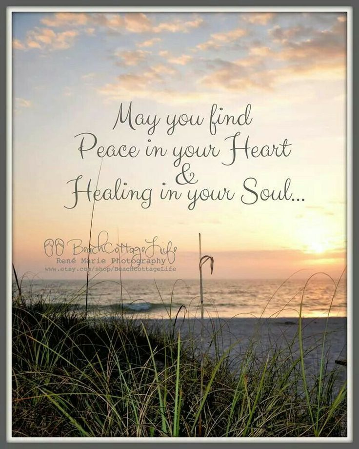 Peaceful Places In Nj: May You Find Peace In Your Heart & Healing In Your Soul