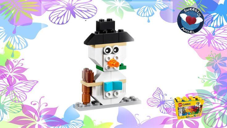 LEGO Classic 10698 - Schneemann / snowman - Bauanleitung / instructions