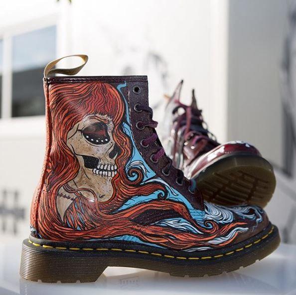 Przygotowania Do Halloween Rozpoczete Boots Combat Boots Martens