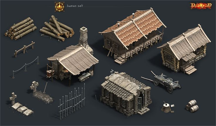 ArtStation - Human and Orc sets, Vladimir Voronov