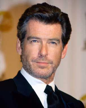 Pierce Brosnan (my personal favorite Bond/007), actor and animal rights advocate, and vegetarian.