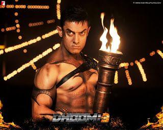 Aamir Khan in Dhoom 3 ♡♡♡