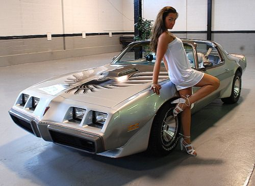 Pontiac Trans Am & Sexy Women 20
