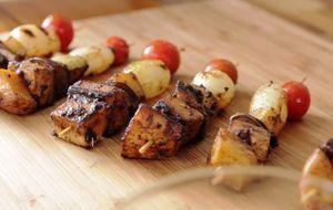 Tati Lund ensina a fazer a receita com legumes assados e marinados