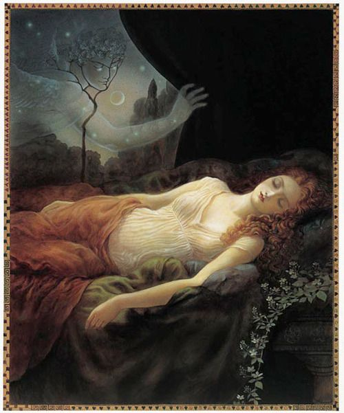 an analysis of the sleeping eros in greek mythology In greek mythology the universe created the gods, rather than the other way around heaven and earth existed first as vague entities, and their children were the titans the children of the titans were the olympians, the principal greek gods.