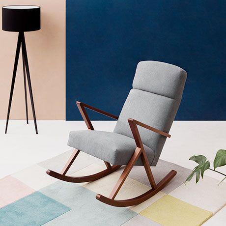 ber ideen zu schaukelstuhl auf pinterest eames. Black Bedroom Furniture Sets. Home Design Ideas