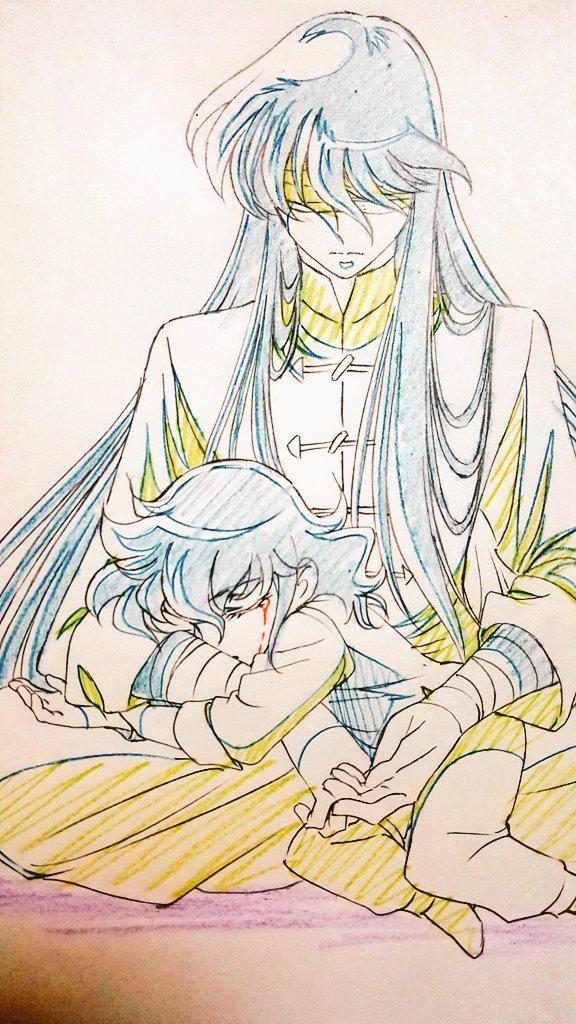 Shiryu and Ryuho