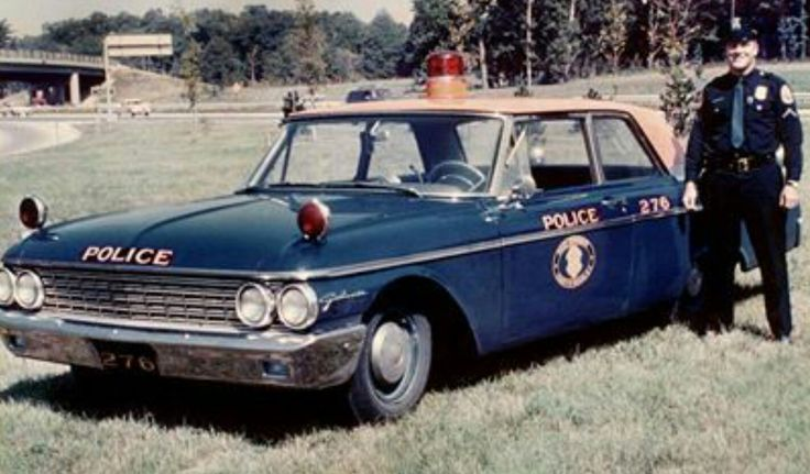 Nassau County Ford Galaxie police car.