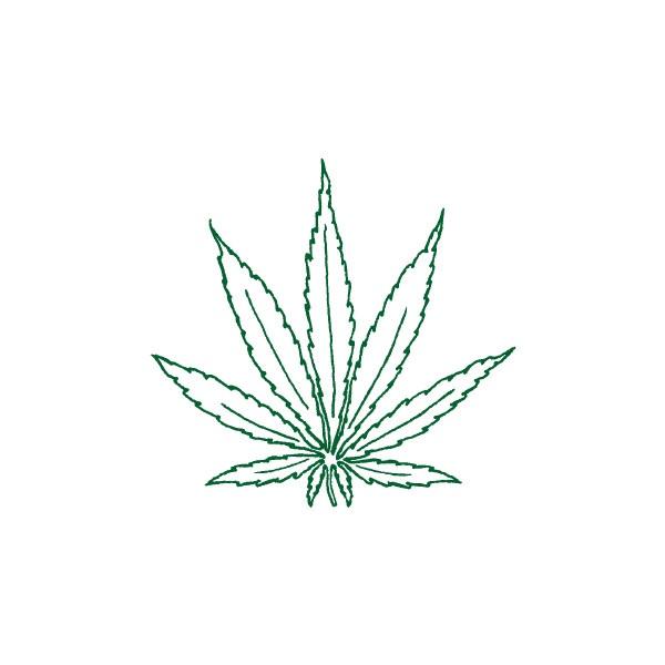 cartoon marijuana leaf | Picsicio ❤ liked on Polyvore
