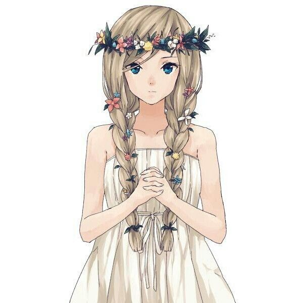 anime girl Cute Kawaii Shop liked on Polyvore featuring ...