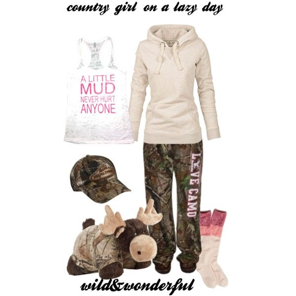 country girl on a lazy day.